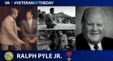 Ralph Pyle is today's Veteran of the Day.