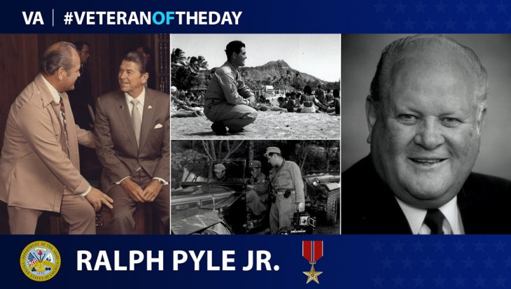 Ralph Pyle is today's #VeteranOfTheDay.