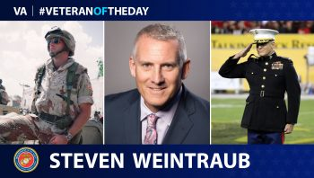 Marine Veteran Steve Weintraub is today's Veteran Of The Day.