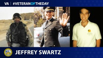 Jeffrey Swartz is today's Veteran Of The Day.