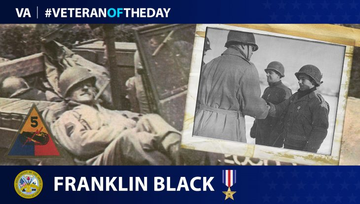 Today's Veteran of the Day is Frank Black.