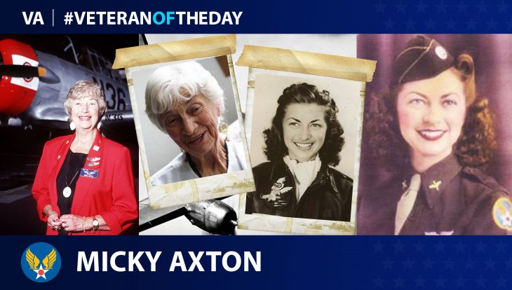 Micky Axton is today's Veteran of the Day.