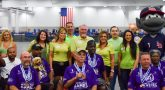 DeGasperis family with Veteran Athletes at the National Veterans Wheelchair Games