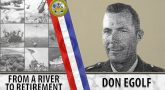 Don Egolf--from a river to retirement.