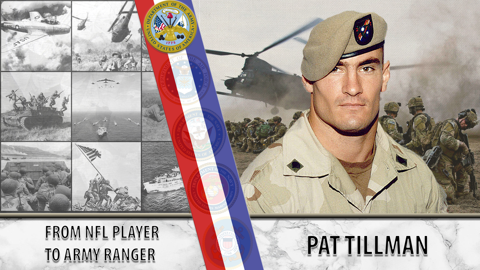 From NFL star to Army Ranger: Pat Tillman - VAntage Point