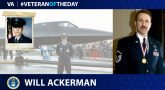 Will Ackerman is today's Veteran of the Day.