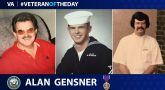 Alan Gensner is today's Veteran of the Day.