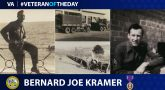 Bernard Joe Kramer is today's Veteran of the Day.
