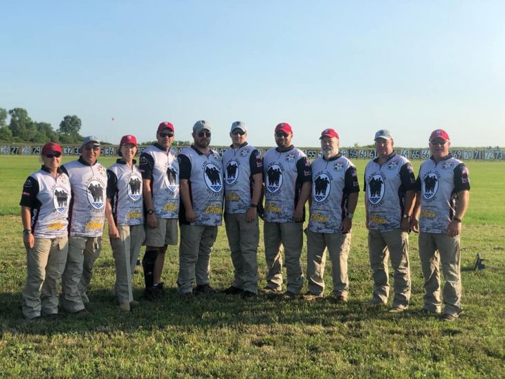 Photo of Camp Valor Outdoors shooting team.