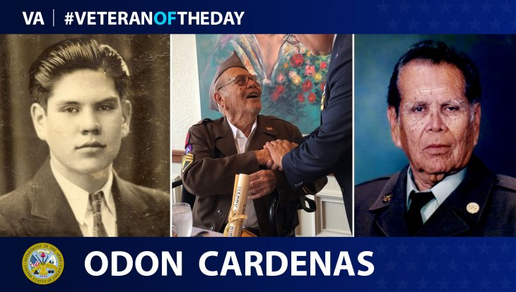 Odon Cardenas is today's Veteran of the Day.