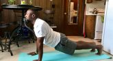 Veterans can practice yoga for pain management.