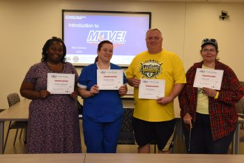 The first MOVE! Program graduates at Southeast Louisiana.