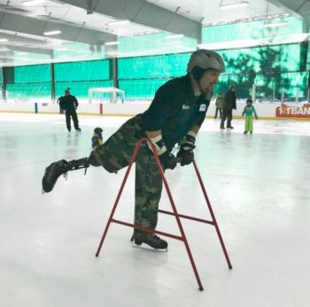 Adaptive Skating USA, a nonprofit organization, announced a new adaptive ice skating program open to service-disabled Veterans/service members of differing abilities.
