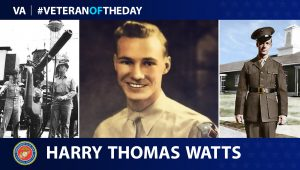 Harry Watts is today's Veteran of the Day.
