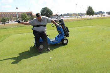 VA and DAV hosted an adaptive golf tournament.