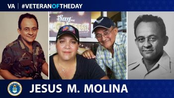 Jesus Molina is today's Veteran of the Day.