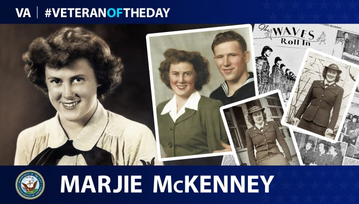 Marjie McKenney is today's Veteran of the Day.