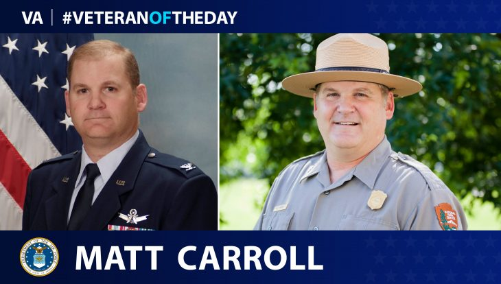 Matt Carroll is today's Veteran of the Day.