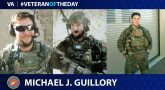 Michael Guillory is today's Veteran of the Day.