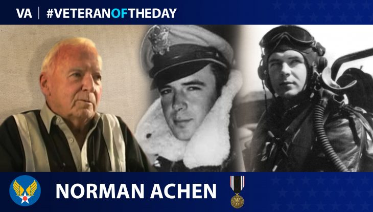 Norman Achen is today's Veteran of the Day.