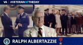 Ralph Albertazzie is today's Veteran of the Day.