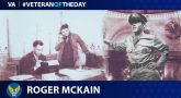 Roger McKain is today's Veteran of the Day.
