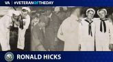 Ronald Day Hicks is today's Veteran of the Day.