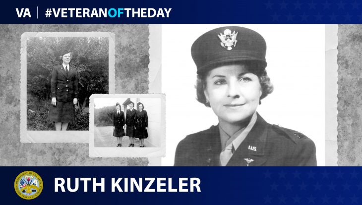 Ruth Kinzeler is today's Veteran of the Day.