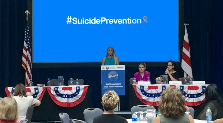 VA and SAMHSA recently met to discuss safe messaging for preventing Veteran suicide.