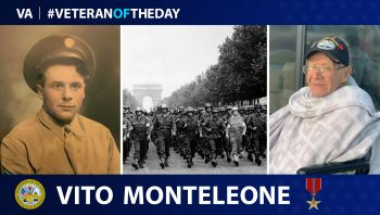 Vito Monteleone is today's Veteran of the Day.