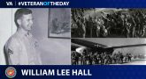 William Lee Hall is today's Veteran of the Day.