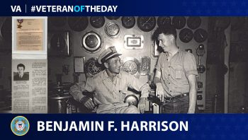 Coast Guard Veteran Benjamin Harrison is today's Veteran of the Day.