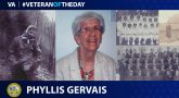 Army Veteran Phyllis M. Gervais is today's Veteran of the Day.