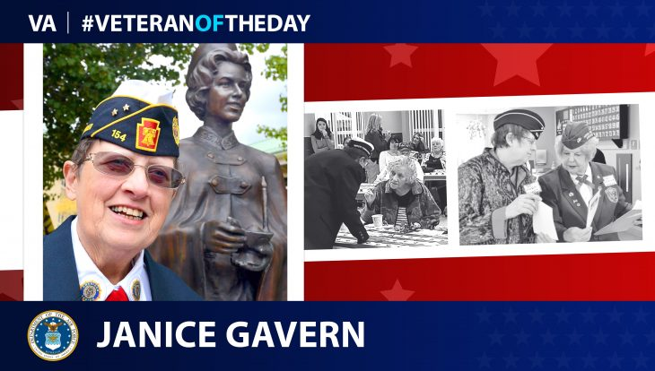 Janice Gavern is today's Veteran of the Day.