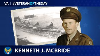 Kenneth J. McBride is today's Veteran of the Day.