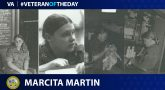 Army Veteran Marcita Martin is today's Veteran of the Day.