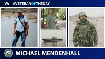 Navy Veteran Michael Mendenhall is today's Veteran of the Day.