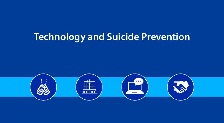 VA technology partners are helping VA address suicide prevention.