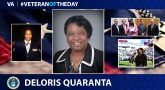 "Deloris ""Dee"" Quaranta is today's Veteran of the Day."