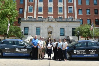 VA North Texas' suicide prevention team owns two specially designed vehicles to help spread the word about the Veterans Crisis Line.