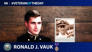 Navy Veteran Ronald Vauk is today's Veteran of the Day.