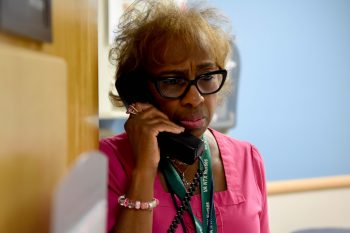 VA North Texas trains its employees with simulated calls to help with Veterans in crisis.