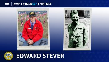 Army Air Corps Veteran Edward Stever is today's Veteran of the Day.