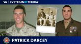 Marine Veteran Patrick Darcey is today's Veteran of the Day.