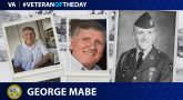 Army Veteran George Mabe is today's Veteran of the Day.