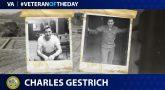 Army Veteran Charles J. Gestrich is today's Veteran of the Day.
