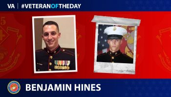 Benjamin S. Hines is today's Veteran of the Day.