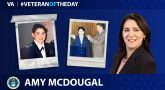 Air Force Veteran Amy McDougal is today's Veteran of the Day.