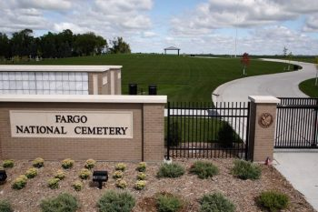 Fargo National Cemetery grand opening September 7, 2019.