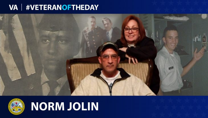 Army Veteran Norman W. Jolin is today's Veteran of the Day.